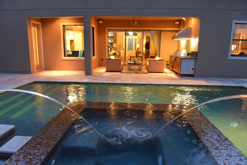 Orlando Dreamscapes Pools And Spas Water Features Lights