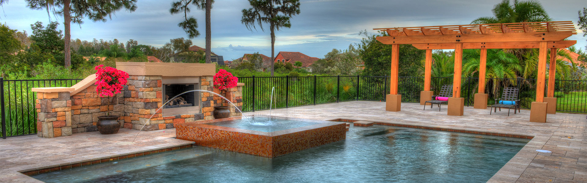 Dreamscapes pools and spas orlando florida for Pool design consultant